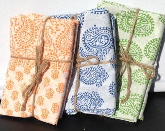 Pillowcases, paisley, Cotton Pillowcases, Handmade, Indian Prints, Bedding, Handmade Pillowcases