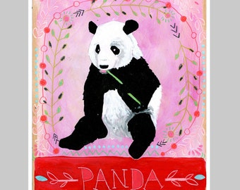 Animal Totem Print - Panda
