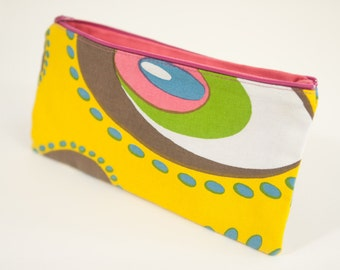 Ovoid Explosion Zipper Pouch