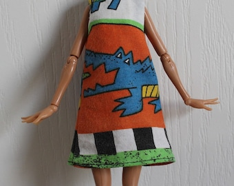 Blythe, Slim Monster Dolls, and more can share this dress, called Wink Gator