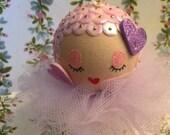 Valentine Hearts Betsy Ornament