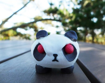 Tiny Marshmallow Leg Angry Panda