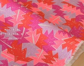 Japanese Fabric Kokka Fabric Caravan by Yurtao - happa - B - 50cm