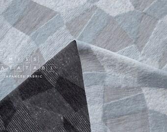 Japanese Fabric Kokka Olu Amu - jacquard knit - gray - 50cm