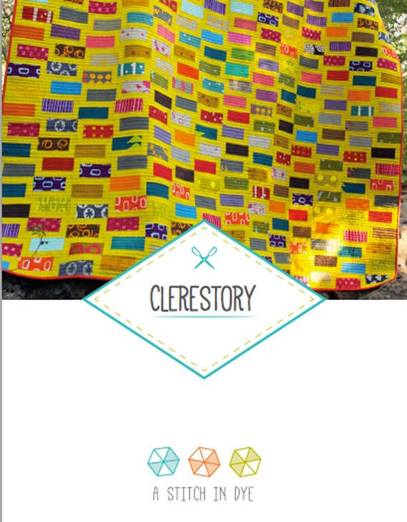 Clerestory Quilt Pattern: PDF