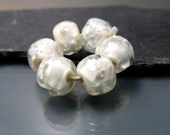 Handmade Lampwork Nugget Beads by GlassBeadArt … Sand and Glass ... SRA F12 ... 10x12mm