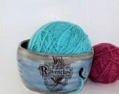 IN STOCK-Ravenclaw Ceramic Yarn Bowl