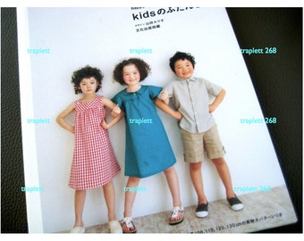 Japanese Craft Pattern Book  Sewing for Kids Happy Homemade vol. 2