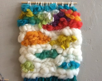 Large Technicolor Wall Hanging