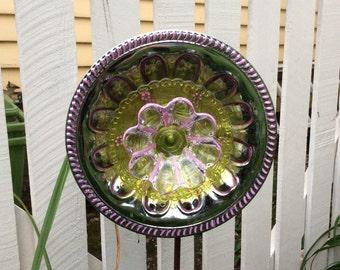 Glass Flower for Garden