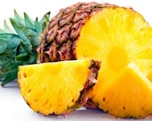 Pineapple handmade vegan soap with coconut milk deeply discounted