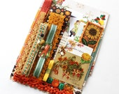 Vintage Shelf Paper Autumn Fall Thanksgiving Inspiration Pack