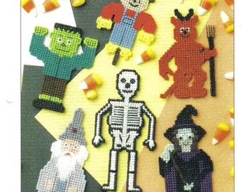 Halloween Fridgies ~ plastic canvas pattern  ~  Annie's