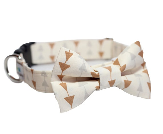 bow tie dog collar wedding dog collar formal bow tie collar