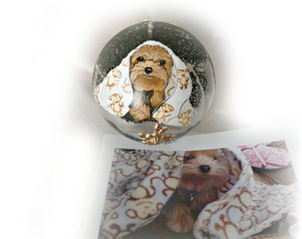 Hand Blown Glass Hand Painted Custom Ornaments