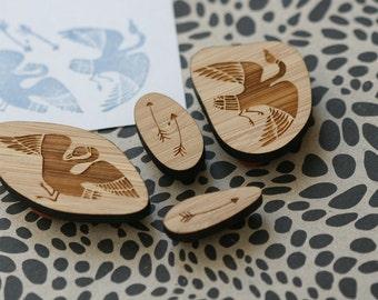 Stymphalian Birds - Rubber Stamp Set