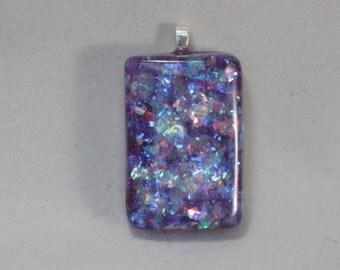 A Purple Blaze Pendant