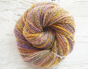 BFL Silk DK Handspun Yarn, Hand Spun Yarn