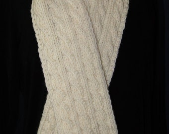 Reversible Cables Scarf