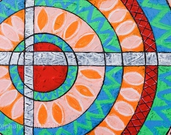 Mandala Art Painting Original and Inspirational