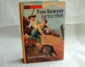 TOM SAWYER Twain Hollow Book Keepsake Box Vintage Book Cover Fake Book Secret Secret Stash Box Hidden Compartment Groomsman Wedding Wooden