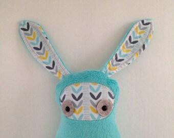 Floppy Eared Bunny - Teal
