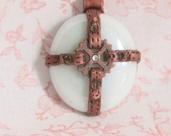 OOAK Steampunk Necklace Pendant