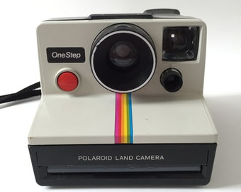 vintage onestep polaroid land camera