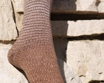 Mister Tumnus Gradient Stripes Matching Socks Set, 2-50g Cakes, Lavish (dyed to order)