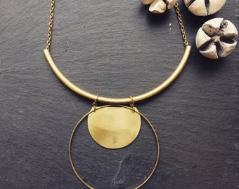 Glyph necklace, large.