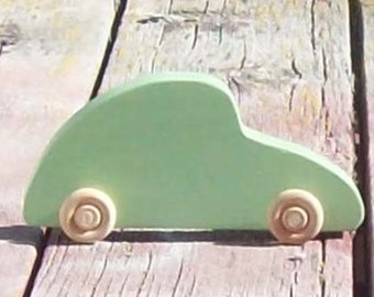 Wooden Toy VW Bug