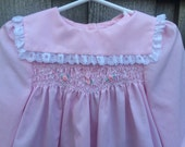 Smocked Baby Dress 18/24 Months