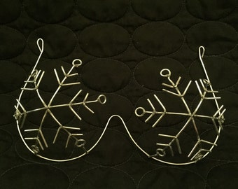 Snowflake Custom Bra Wire Frame Design - New Design / Custom Made