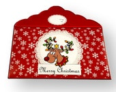 CW17 - Handmade Christmas Gift/Money/Voucher/Wallet/Pocket/Envelopes