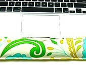 LAPTOP Keyboard Wrist Support Carpal Tunnel Wrist Pain Desk Set Wrist Rest Geekery Office Work Place Floral Reversible Fabric