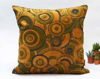 Mid Century Modern velvet upholstery fabric pillow cover  45x45 - 18x18