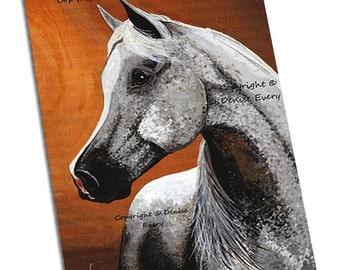 Arabian Horse Art Horse Art Print Egyptian Arabian Horse Art Print Equine Art Arabian horse art lover horse gift horse art Denise Every