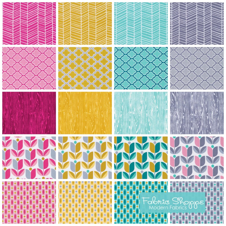 Gray fabric woodland nursery herringbone true colors by for Grey nursery fabric