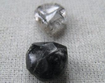 Gemstone Mix Black Tourmilated Quartz Item No 6582