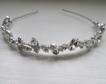 Bridal hair accessories/ wedding/ vintage style hairband/ headband/ crystal