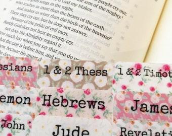 Bible Tabs, Bible Journaling Tabs, vintage floral Bible Tabs, Bible Journaling, Tabs, Bible Study