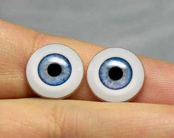 Doll eyes 12mm AD color Steel