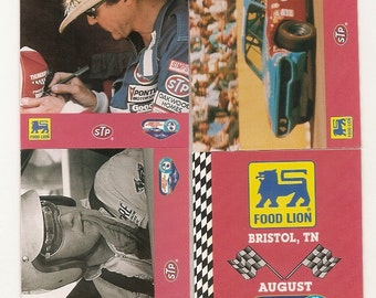 20 Vintage NASCAR TRADING CARDS ,waltrip,petty,earnhardt,gordon,marlin,jarrett,Hamilton,Stricklin,musgrave,benson,rudd,martin,labonte,burton