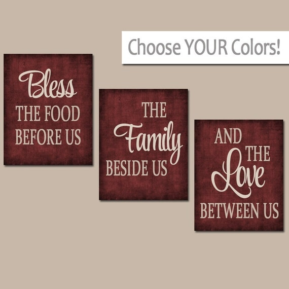 kitchen wall canvas or prints kitchen quote artwork