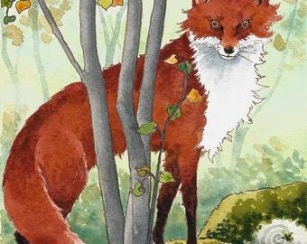 Fox orginal painting