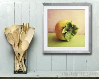 Persimmon still life kitchen wall art fruit food photography print  'Persimmon'