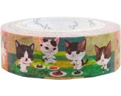 Cat Pandora MT Masking Tape • Japanese Washi Tape (pb-mt-10005)