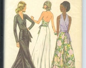 Simplicity Misses Wrap and Tie BLOUSE Pants Halter Top   Sewing Pattern 5355  Size  16   Bust 38   Waist 30
