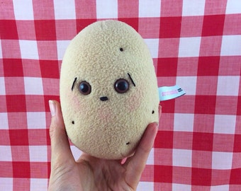 One Worried Potato Plush
