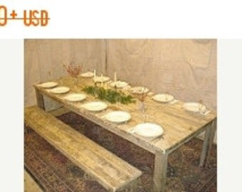 Driftwood Furniture Driftwood Table (96 x 48 x 29h) 1 1/2 inch Thick tabletop